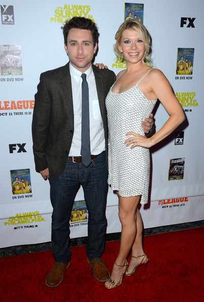 Charlie Day with cute, Wife Mary Elizabeth Ellis