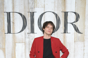 Charlie Heaton Christian Dior Couture S/S19 Cruise Collection: Photocall At Grandes Ecuries De Chantilly
