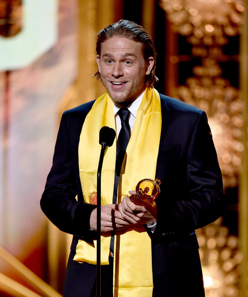 Film awards show in this photo charlie hunnam actor charlie hunnam