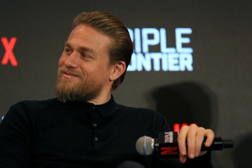 Charlie Hunnam 'Triple Frontier' Press Conference In Singapore