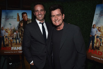 Charlie Sheen Premiere Of Crackle's 'Mad Families'