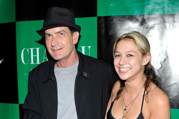 Charlie Sheen Natalie Kenley Charlie Sheen Hosts Chateau Nightclub & Gardens