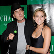 Charlie Sheen and Natalie Kenley