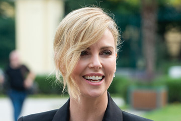 Charlize Theron Charlize Theron Receives Swarovski Crystal Of Hope Award In Vienna