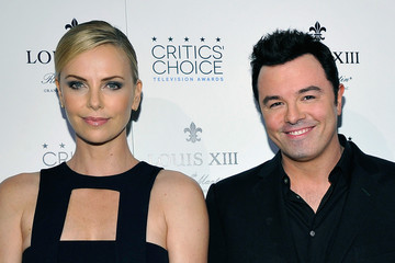 Charlize Theron Charlize Theron Presents Distinguished Critics' Choice Louis XIII Genius Award to Seth MacFarlane