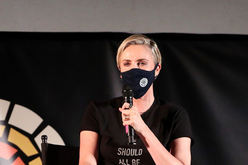 """Charlize Theron Charlize Theron Hosts Drive-In Screening Of """"Mad Max: Fury Road"""" Benefiting The Charlize Theron Africa Outreach Project"""