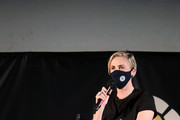 """Charlize Theron attends Charlize Theron Hosts Drive-In Screening of """"Mad Max: Fury Road"""" Benefiting the Charlize Theron Africa Outreach Project at The Grove on July 31, 2020 in Los Angeles, California."""