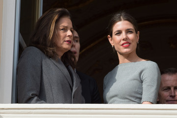 Charlotte Casiraghi Official Presentation of the Monaco Twins