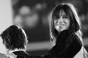 """Charlotte Gainsbourg """"Les Choses Humaines"""" Red Carpet - The 78th Venice International Film Festival"""