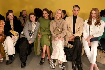 Charlotte Groeneveld Tory Burch Fall Winter 2020 Fashion Show - Front Row