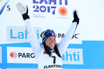 Charlotte Kalla Men's and Women's Cross Country Skiathlon - FIS Nordic World Ski Championships