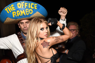 Charlotte McKinney Celebs Attend the Casamigos Tequila Halloween Party