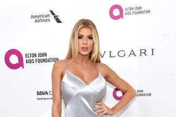 Charlotte McKinney 24th Annual Elton John AIDS Foundation's Oscar Viewing Party - Red Carpet