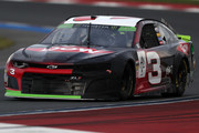 Austin Dillon, driver of the #3 Dow Chevrodlet, drives during qualifying for the Monster Energy NASCAR Cup Series Bank of America Roval 400 at Charlotte Motor Speedway on September 28, 2018 in Charlotte, North Carolina.