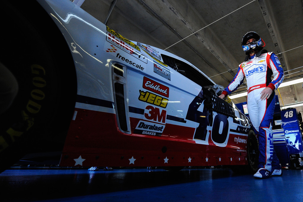 Jimmie Johnson Pictures Charlotte Motor Speedway Day 3