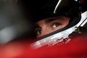 Austin Dillon, driver of the #3 Dow Chevrolet, prepares to drive during practice for the Monster Energy NASCAR Cup Series Bank of America Roval 400 at Charlotte Motor Speedway on September 29, 2018 in Charlotte, North Carolina.