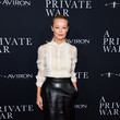 Charlotte Ross Aviron Pictures' Los Angeles Premiere Of 'A Private War' - Arrivals