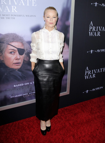 """Aviron Pictures' Los Angeles Premiere Of """"A Private War"""" - Red Carpet"""