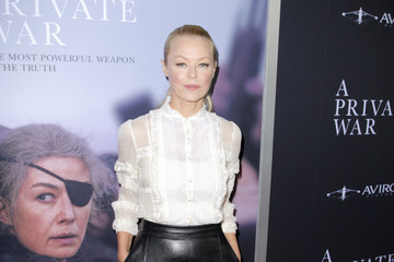 """Charlotte Ross Aviron Pictures' Los Angeles Premiere Of """"A Private War"""" - Red Carpet"""