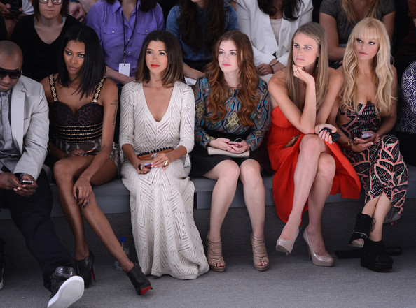 Mara Hoffman - Front Row - Spring 2013 Mercedes-Benz Fashion Week