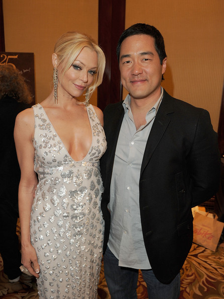 25th Anniversary Genesis Awards - Backstage [fashion,event,suit,dress,formal wear,fun,smile,fashion design,haute couture,actors,charlotte ross,tim kang,backstage,genesis awards,california,los angeles,hyatt regency century plaza hotel,humane society of the united states,anniversary genesis awards]