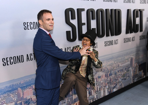 'Second Act' World Premiere [second act world premiere,suit,world,fictional character,alan aisenberg,charlyne yi,new york city,stadium 14,regal union square theatre,world premiere]