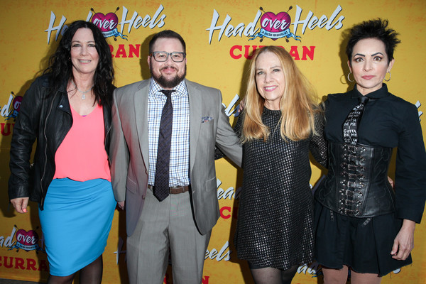 Pre-Broadway Opening Engagement Of 'Head Over Heels' [head over heels,photos,yellow,event,fashion,drink,fun,party,members,chaz bono,kathy valentine,engagement,red carpet,center,pre-broadway,the go-gos]