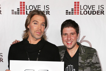 Chaz Dean Courtney Knowles Chaz Dean's Holiday Party Benefitting the Love is Louder Movement