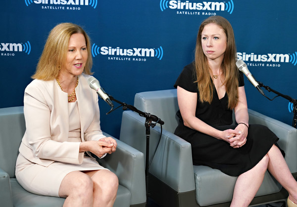 Chelsea Clinton And Nancy Northup In Converation With SiriusXM Hosts Zerlina Maxwell And Jess McIntosh