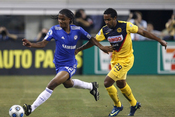Jean Beausejour Chelsea FC v Club America