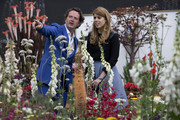 Princess Beatrice visits the English Eccentrics Garden by Diarmuid Gavin as she attends the Chelsea Flower Show press day at Royal Hospital Chelsea on May 23, 2016 in London, England. The show, which has run annually since 1913 in the grounds of the Royal Hospital Chelsea, is open to the public from 24-28 May.