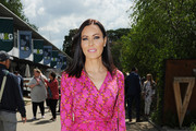 Linzi Stoppard attends Chelsea Flower Show press day at Royal Hospital Chelsea on May 23, 2016 in London, England. The show, which has run annually since 1913 in the grounds of the Royal Hospital Chelsea, is open to the public from 24-28 May.