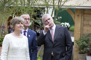 Prince Andrew, Duke of York attends the Chelsea Flower Show press day at Royal Hospital Chelsea on May 23, 2016 in London, England. The show, which has run annually since 1913 in the grounds of the Royal Hospital Chelsea, is open to the public from 24-28 May.