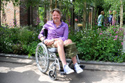 Charley Boorman attends Chelsea Flower Show press day at Royal Hospital Chelsea on May 23, 2016 in London, England. The prestigious gardening show features hundreds of stands and exhibition gardens.