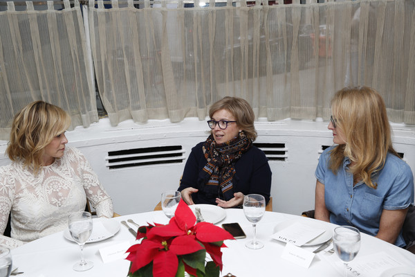 Robbie Myers, Editor-In-Chief, ELLE and Chelsea Handler Host ELLE Agenda Lunch At Michael's NYC