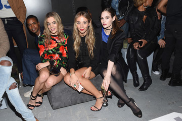 Chelsea Leyland BALMAIN X H&M Collection Launch - Front Row