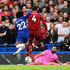 Virgil van Dijk Alisson Photos - Willian of Chelsea is blocked by Alisson and Virgil van Dijk of Liverpool during the Premier League match between Chelsea FC and Liverpool FC at Stamford Bridge on September 29, 2018 in London, United Kingdom. - Chelsea vs. Liverpool - Premier League