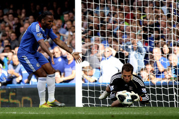 Thomas Sorenson Chelsea v Stoke City - Premier League
