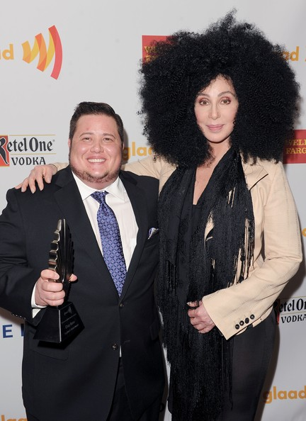 23rd Annual GLAAD Media Awards Presented By Ketel One And Wells Fargo - Backstage [hair,hairstyle,fashion,suit,jheri curl,event,black hair,tuxedo,premiere,musician,cher,chaz bono,glaad media awards,backstage,westin bonaventure hotel,california,los angeles,wells fargo,ketel one]