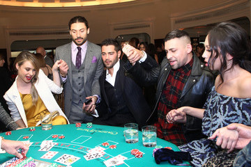 Cheryl Burke Brooks Brothers Hosts 'Le Casino' Night to Benefit UCLA Jonsson Cancer Center