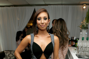 Cheryl Burke Green Room at the Young Hollywood Awards