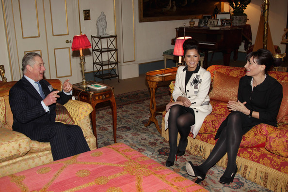 Cheryl Cole Cheryl Cole and Kristina Kyriacou ( in black) Director of the Cheryl Cole Foundation meet Prince Charles, Prince of Wales at Clarence House on February 22, 2011 in London, England. Cheryl Cole today announced a charity foundation with The Prince's Trust following a meeting with the youth charity's President, The Prince of Wales. The foundation will provide funds for The Prince's Trust in the North East, helping young people from Cheryl's hometown and the surrounding region. The Foundation will launch in April and will support young people who have struggled at school, are long term unemployed, those who have been in trouble with the law and those who are in or leaving care.
