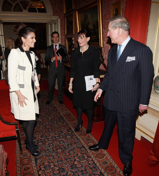 Cheryl Cole Cheryl Cole and Kristina Kyriacou (centre in black) Director of the Cheryl Cole Foundation meet Prince Charles, Prince of Wales at Clarence House on February 22, 2011 in London, England. Cheryl Cole today announced a charity foundation with The Prince's Trust following a meeting with the youth charity's President, The Prince of Wales. The foundation will provide funds for The Prince's Trust in the North East, helping young people from Cheryl's hometown and the surrounding region. The Foundation will launch in April and will support young people who have struggled at school, are long term unemployed, those who have been in trouble with the law and those who are in or leaving care.