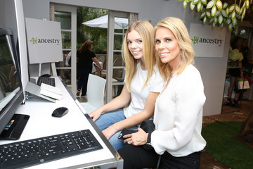 Cheryl Hines Catherine Rose Young HBO Luxury Lounge Presented By Ancestry - Day 2