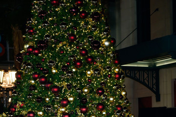 Chet Buchanan Britney Spears Hosts a Christmas Tree Lighting Ceremony at the LINQ Promenade
