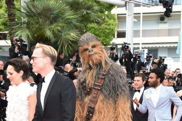 Chewbacca European Premiere of 'Solo: A Star Wars Story' At the Palais Des Festivals During The 71st International Cannes Film Festival