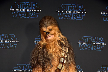Chewbacca The Stars And Filmmakers Of Star Wars:  The Rise Of Skywalker At The Global Press Conference