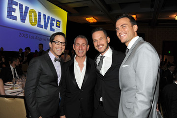 Cheyenne Jackson 2015 Human Rights Campaign Los Angeles Gala Dinner - Inside