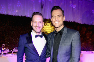 Cheyenne Jackson Arrivals at the Elton John AIDS Foundation Oscars Viewing Party — Part 2