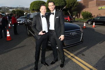 Cheyenne Jackson Elton John AIDS Foundation's Oscar Viewing Party
